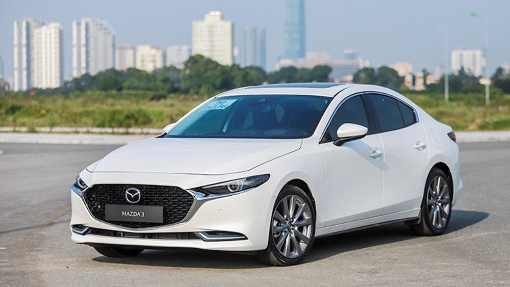 Mazda3 tại Việt Nam gặp lỗi tự phanh dừng đột ngột